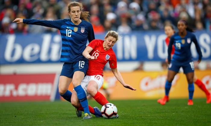 England Draw With World Champions USA In The SheBelieves Cup