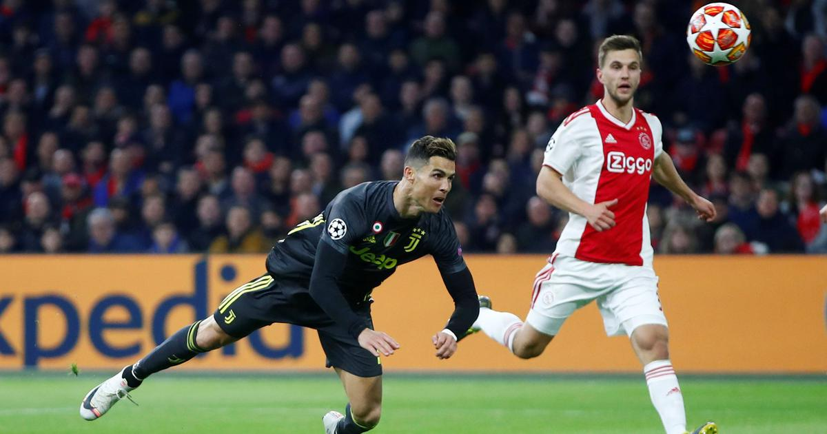 ba972990912 All to play for as Ajax travel to Juventus in quarter-final second-leg