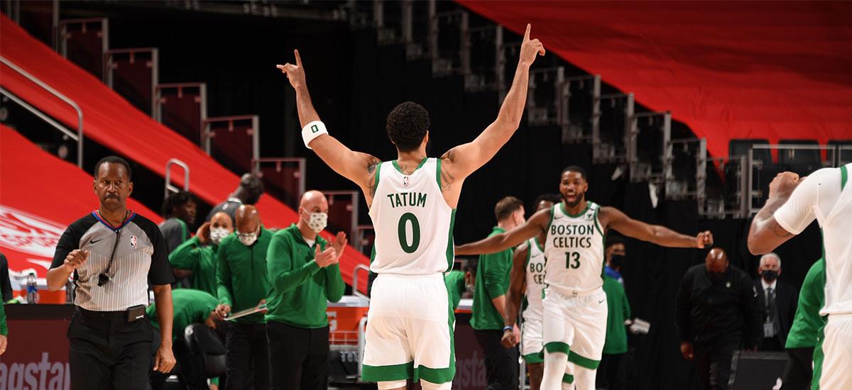 Jayson Tatum game winner set the seal on 120-122 Celtics win against Pistons